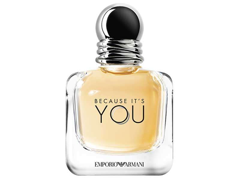 Emporio Armani perfume at Paris Gallery available at City Centres