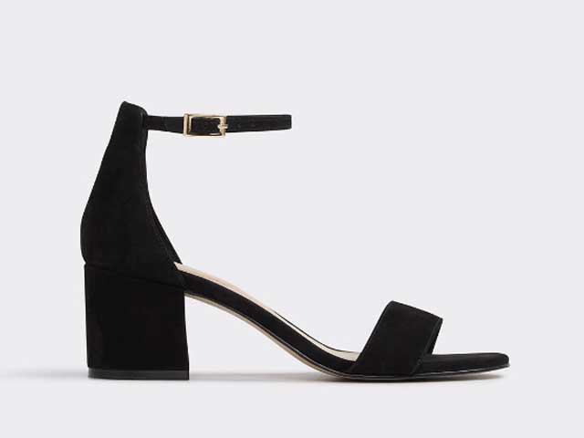 Black heels available at Aldo