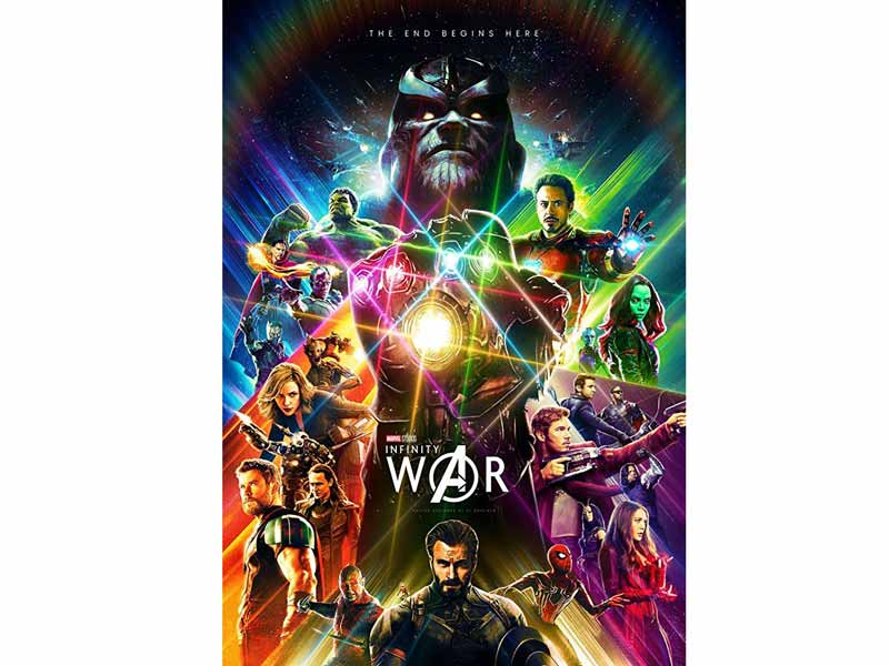 Avengers: Infinity War across middle east at Vox Cinemas in Muscat