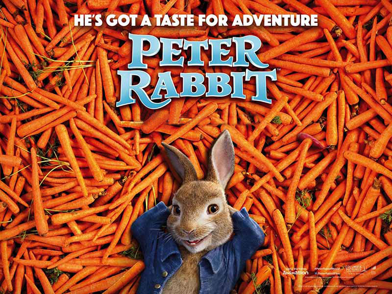 Watch Peter Rabbit Animated movies at Vox Cinemas in Muscat