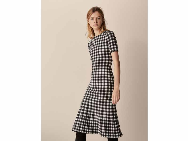 Gingham dress by Massimo Dutti Middle East