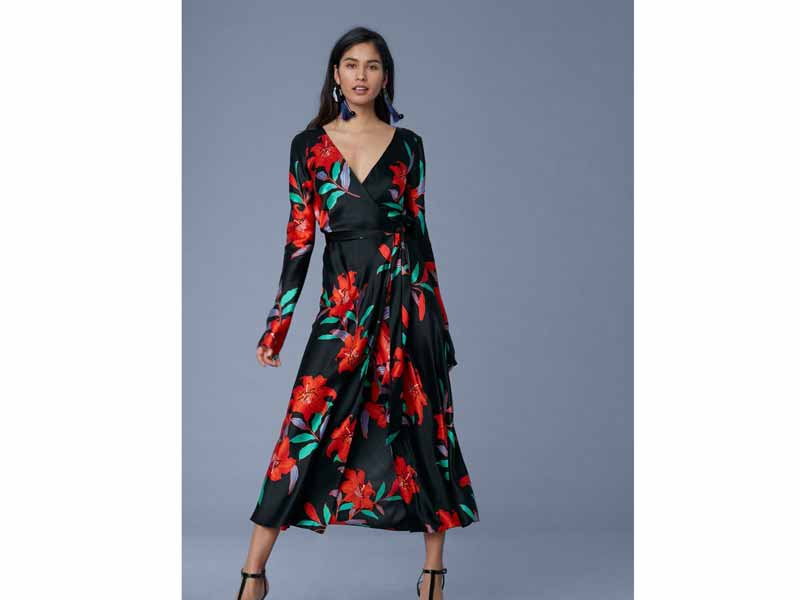 Wrap dress by Diane von Furstenberg Middle East