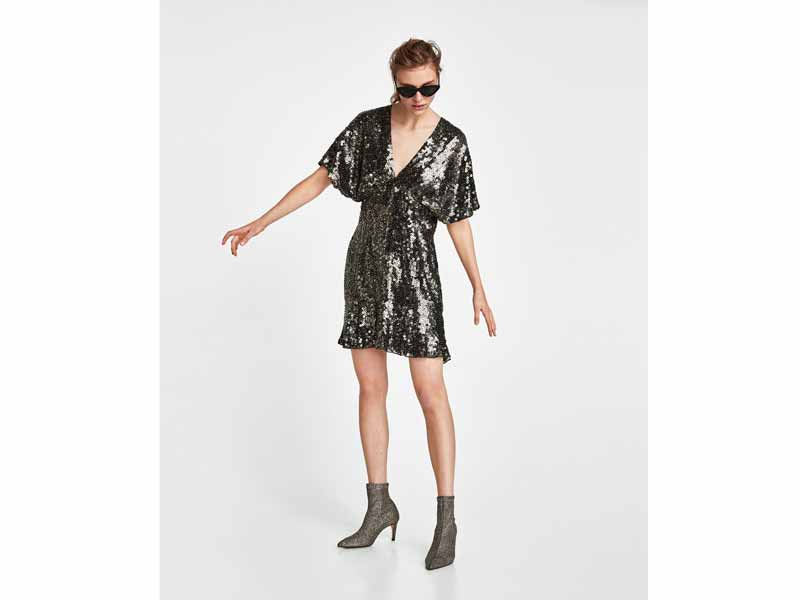 Sequin mini dress by Zara Muscat
