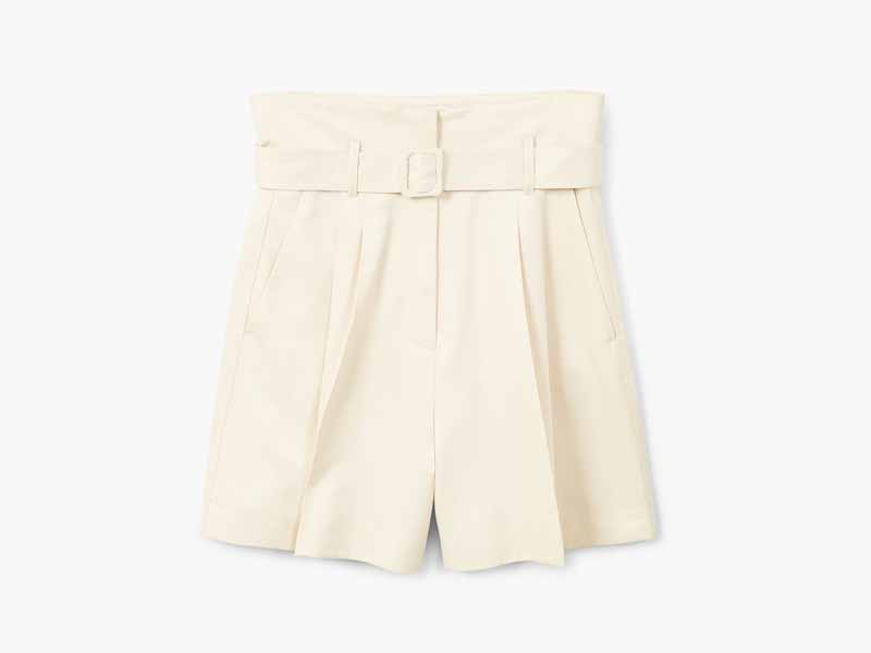 Belted shorts by Mango Muscat