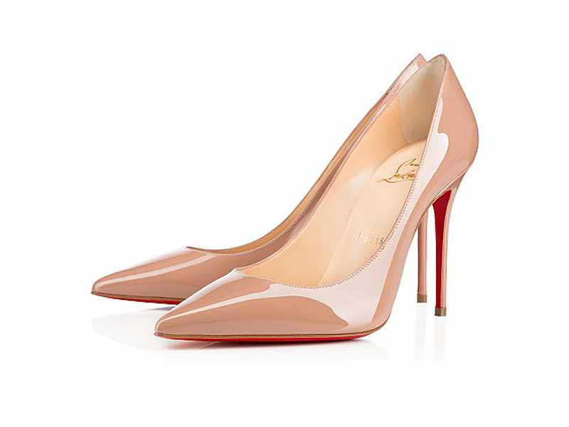 Nude heels from Christian Louboutin UAE