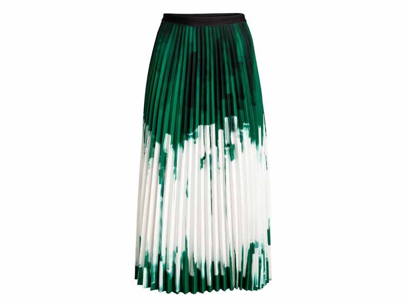 Pleated skirt by H&M Muscat