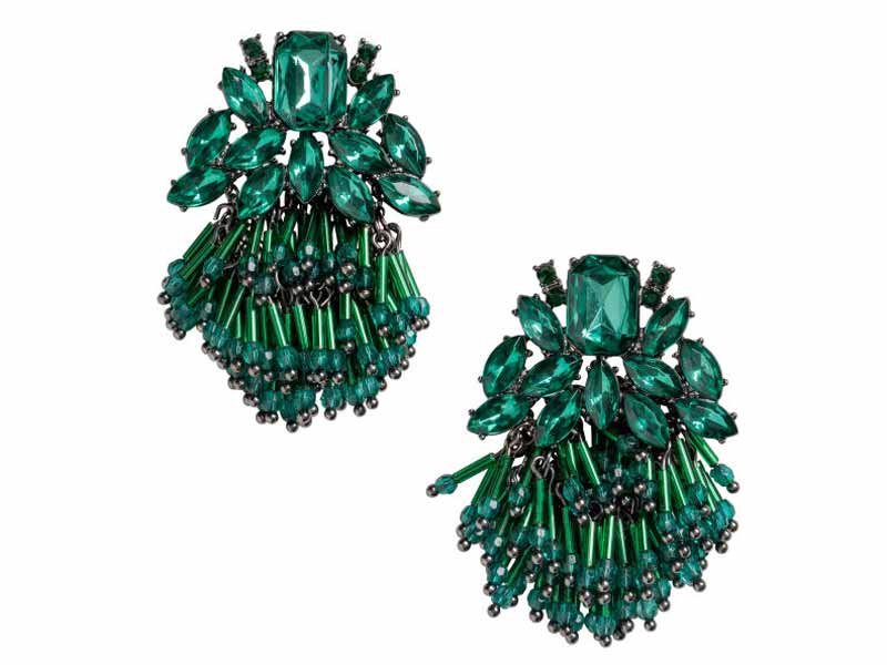 Earrings at H&M, Muscat