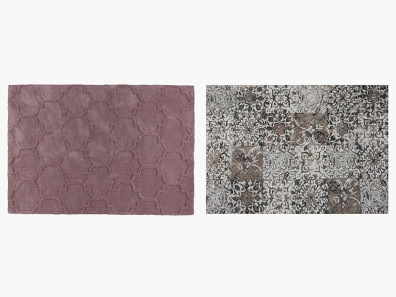 Rugs by Home Centre available at Mall of the Emirates, Mall of Egypt, and City Centres