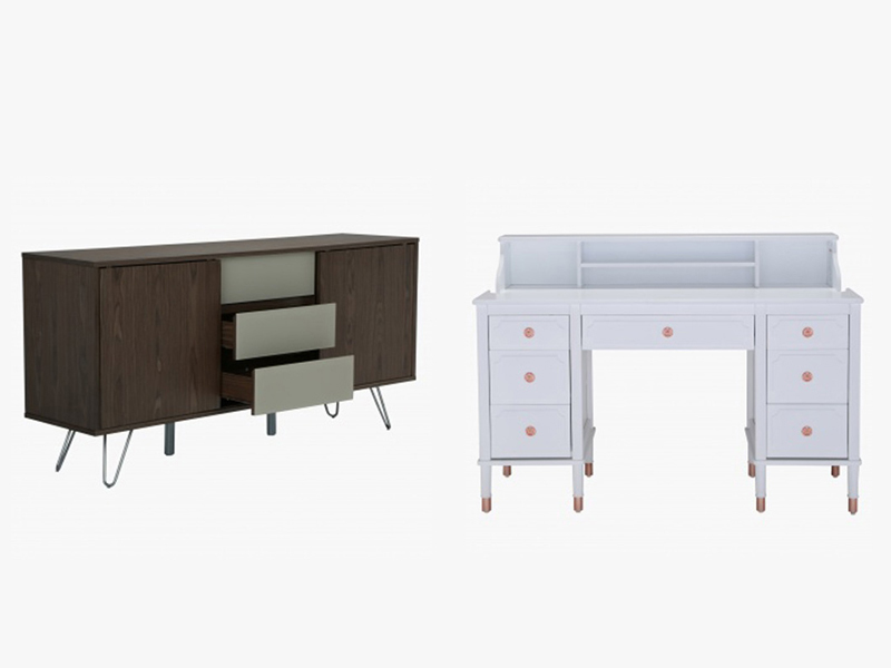 Storage table and desk by Home Centre available at Mall of the Emirates, Mall of Egypt, and City Centres