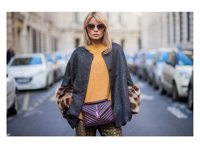 Street style star Gitta Banko at Paris Fashion Week